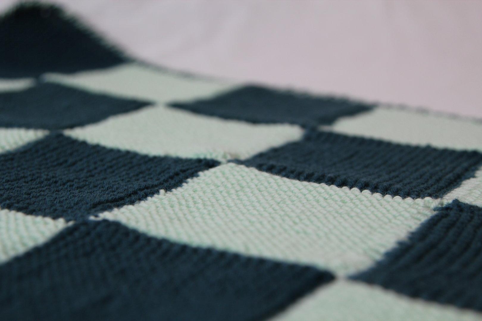 patchworkdecke stricken anleitung zum stricken einer decke. Black Bedroom Furniture Sets. Home Design Ideas