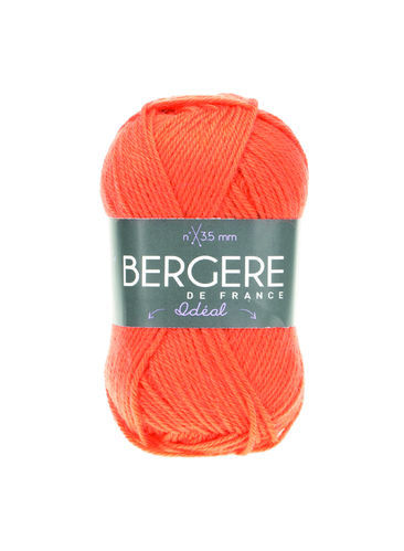 Ideal-Wolle - Orange/Vitamine - Bergere de France