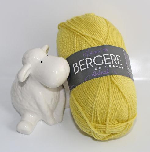 Ideal-Wolle - zitrone - Bergere de France