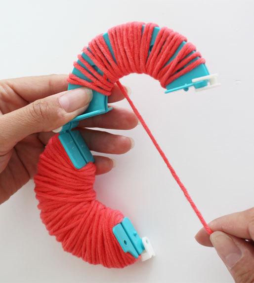 Pomponmacher von addi für 4 Größen von 3,5 bis 9 cm