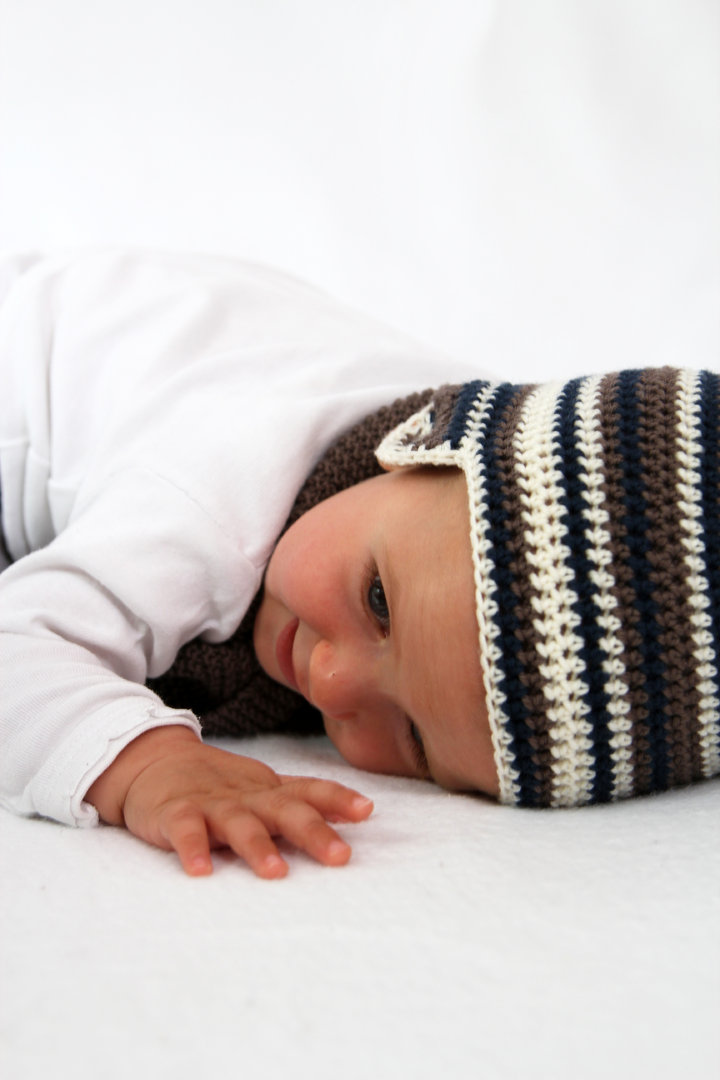 Häkelanleitung Babymütze Carl Und Carla 0 2 Jahre Für Anfänger