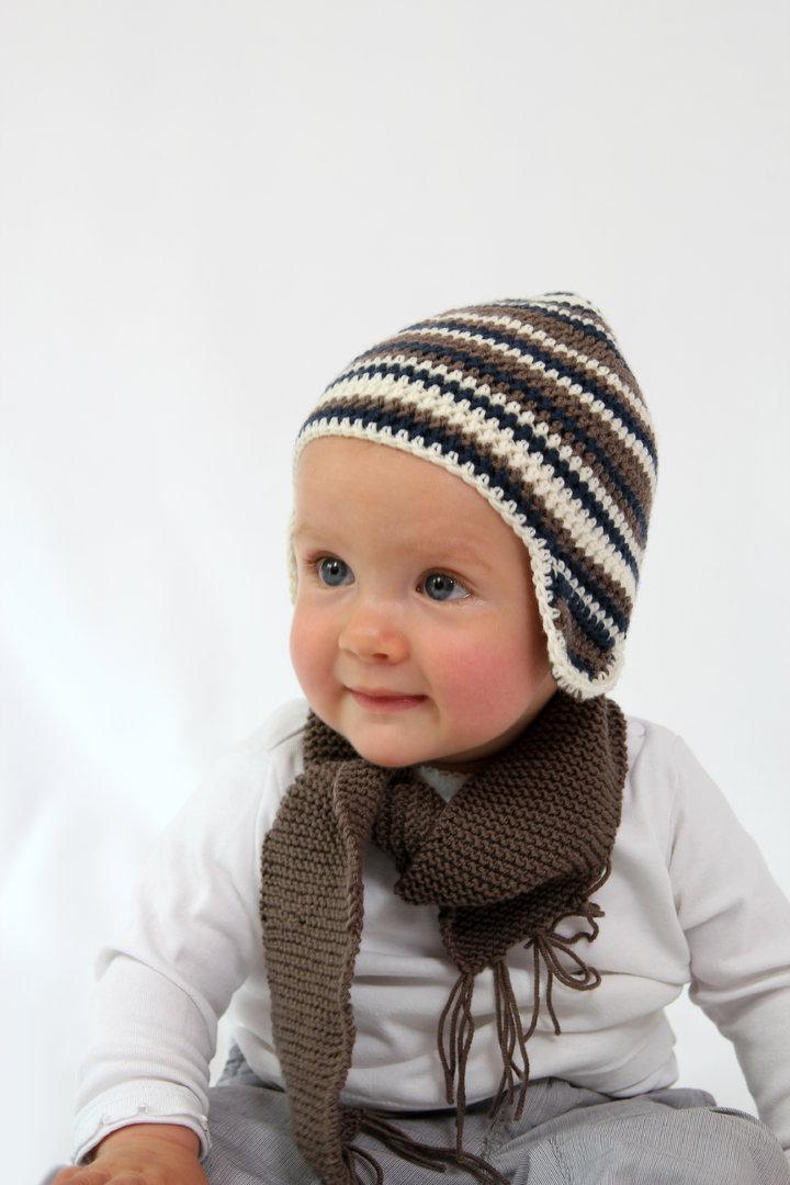 Häkelanleitung Babymütze Carl und Carla, 0-2 Jahre, für Anfänger ...