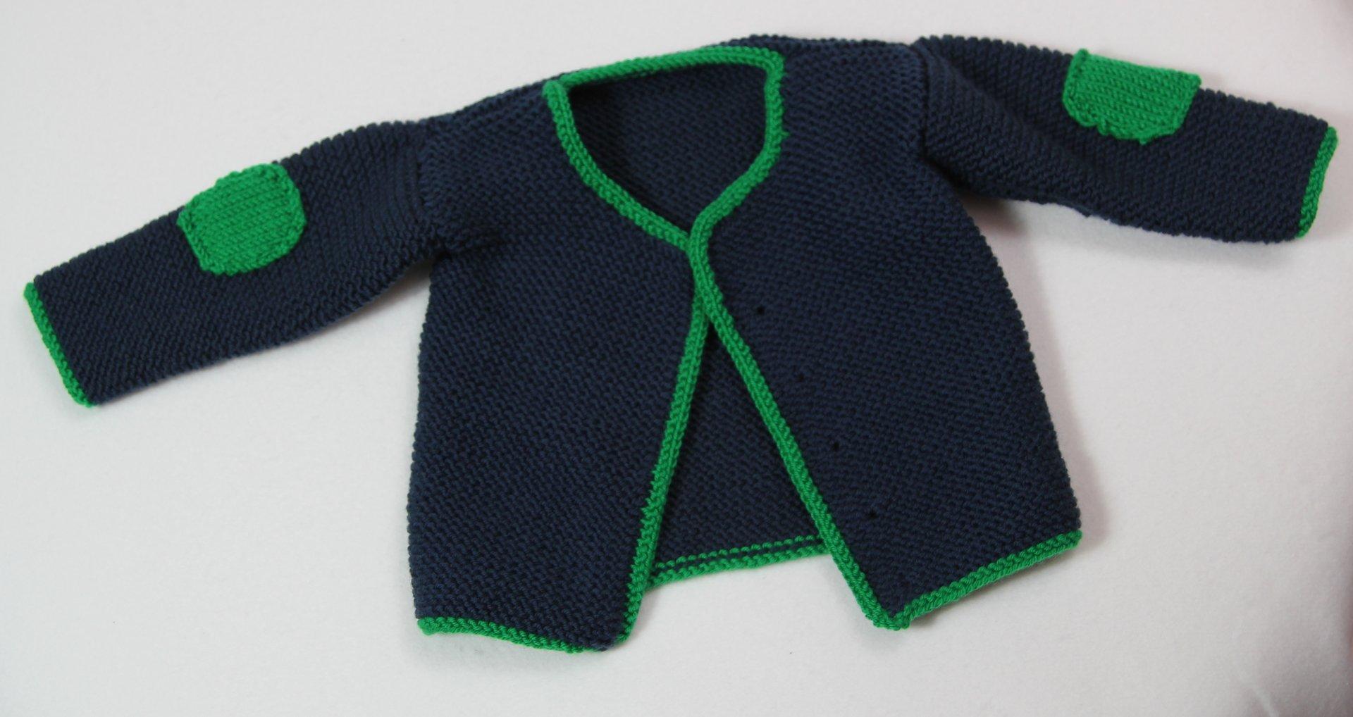 Babyjacke stricken 62 68 anleitung kostenlos