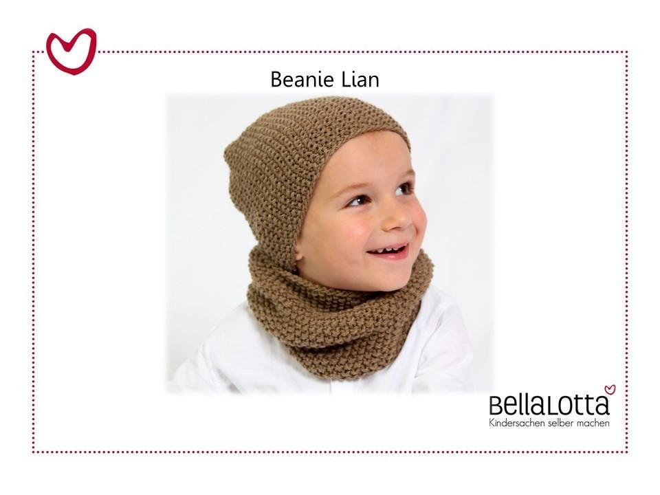 Anleitung Beanie Lian - ab 3 Monate bis zum Teenager