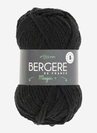 Magic+ in Schwarz - Bergere de France