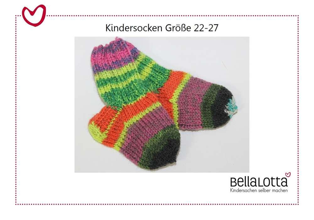 c292b54398 Anleitung Stricken Socken, Kindersocken stricken, Strickanleitung ...