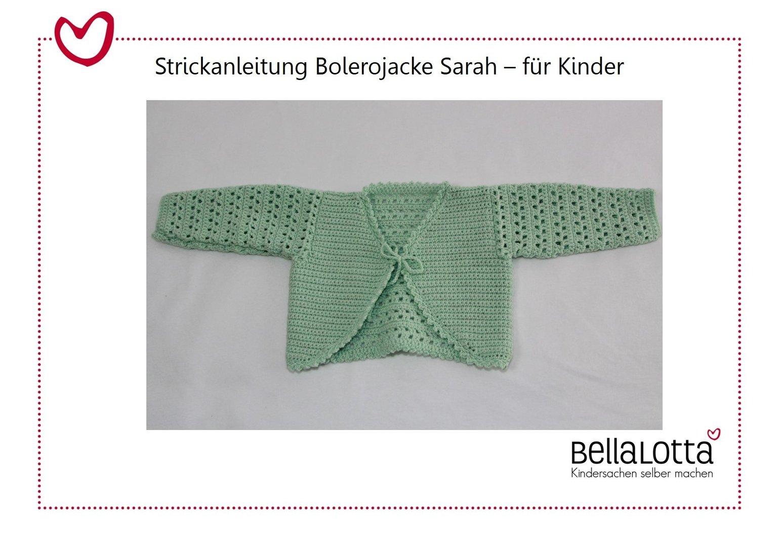 Amazing Häkeln Bolero Muster Für Kind Collection - Decke Stricken ...