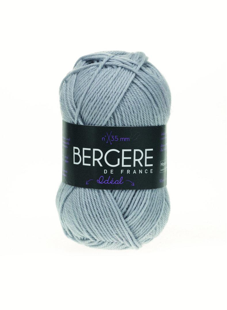 Ideal-Wolle - hellgrau - Bergere de France
