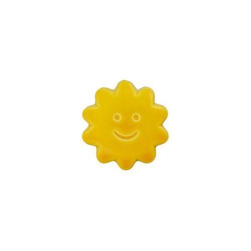 Sonne gelb mit Öse 14mm