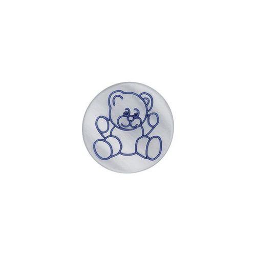 Knopf Teddy - mit Öse - in verschiedenen Farben und Größen
