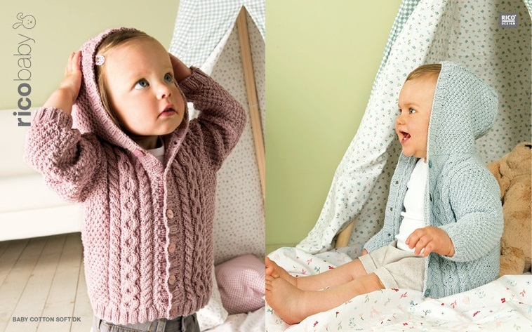 Essentials Baby Cotton Soft DK - vanille - RICO Design