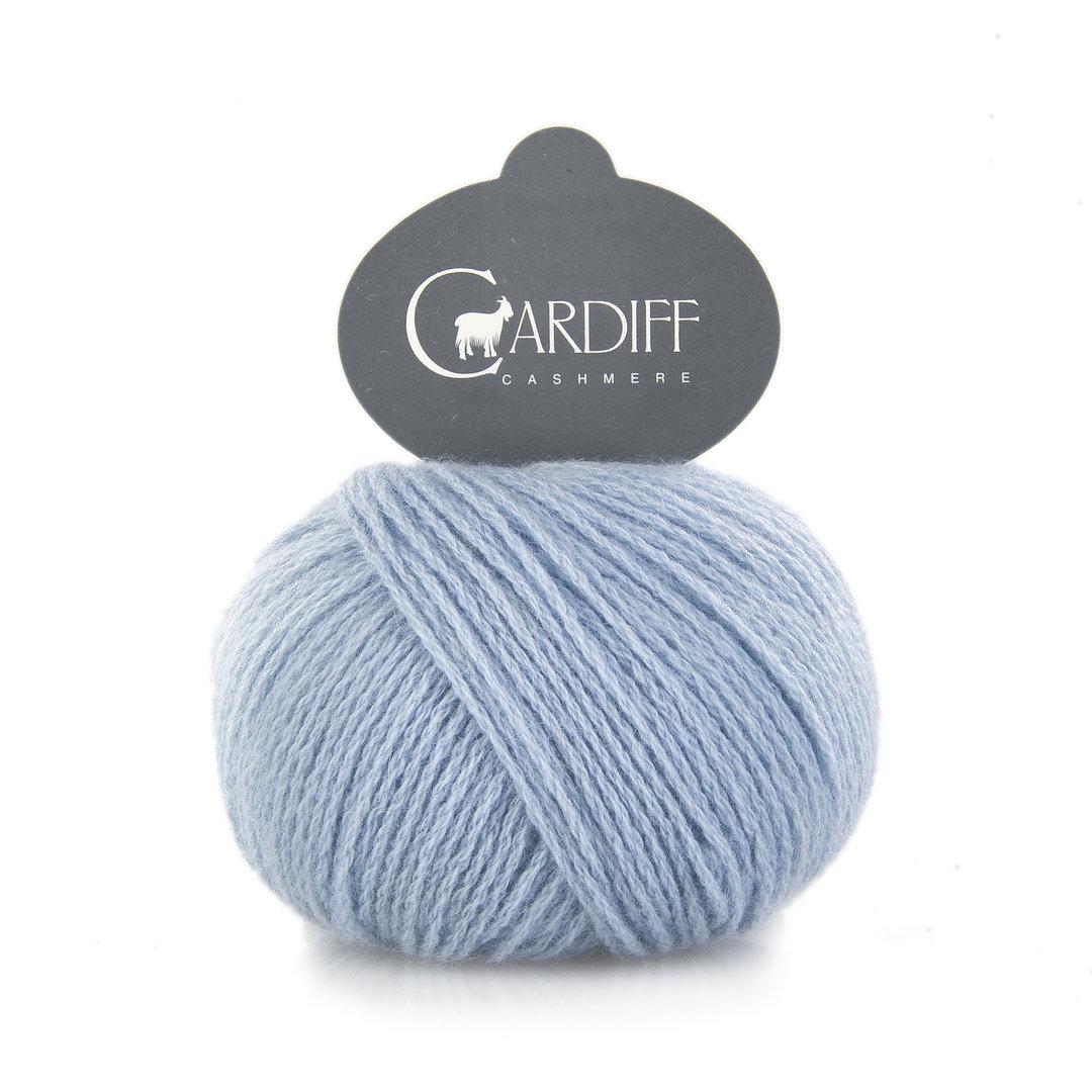 Cashmere in babyblau - 100% cashmere von Cardiff Italy