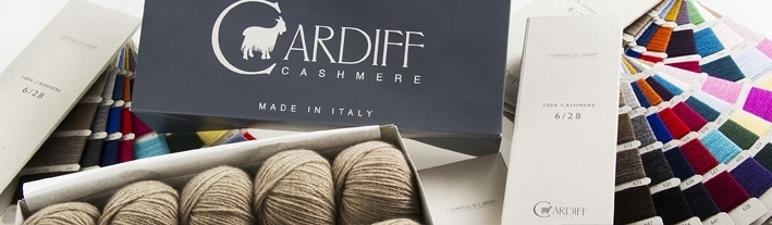 Cashmere in patina hell - 100% cashmere von Cardiff Italy