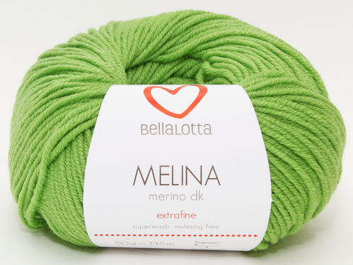 Melina Merino DK - Grasgrün - BellaLotta