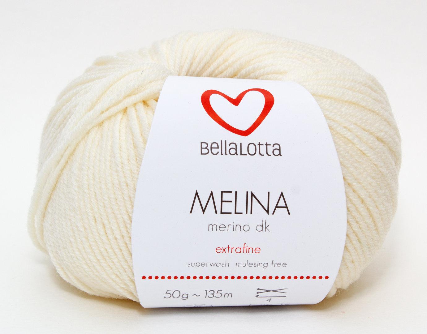 Melina Merino DK - Creme - BellaLotta