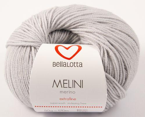 Melini Merino - Hellgrau - 170m/50g